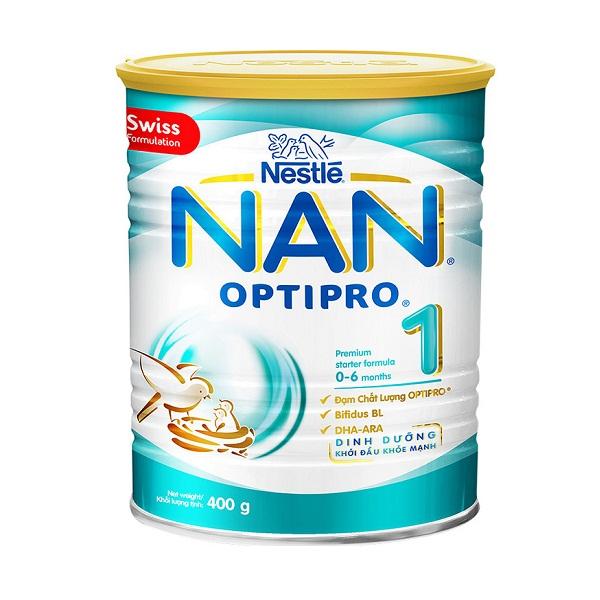 Sữa Bột NAN 1 Lon 400g (0-6 Tháng Tuổi)