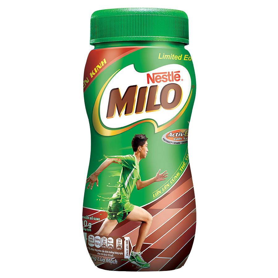 Thức Uống Lúa Mạch Nestle MILO - Hũ 400g