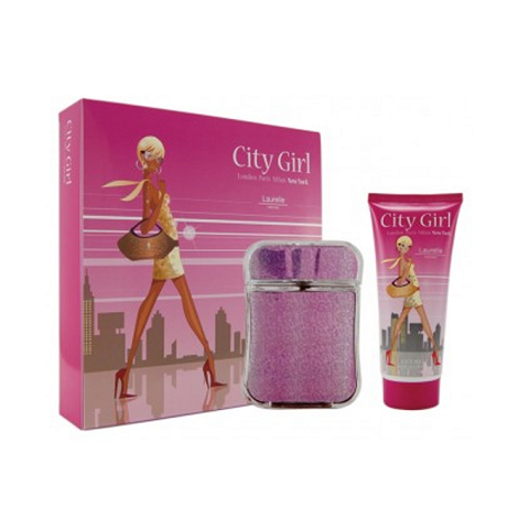 Nước Hoa CITY GIRL NEW YORK 2 PC GIFT SET | CITY GIRL NEW YORK PERFUME 2PC GIFT SET