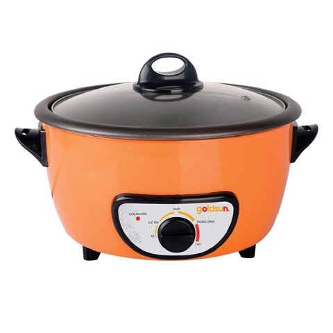 Nồi Lẩu Điện Goldsun MC-GBB100 | GOLDSUN Electric Hot Pot MC-GBB100(O/R)