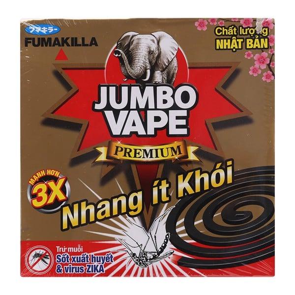 Nhang Trừ Muỗi Jumbo Vape S2 - Hộp 10 Khoanh