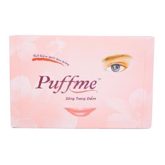 Bông Trang Điểm Puffme Air-Lad - Hộp 180 Miếng
