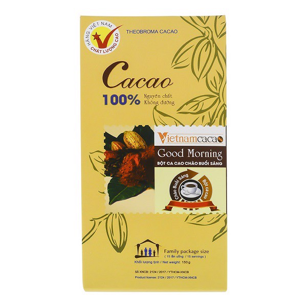 Bột Cacao Good Morning 150g