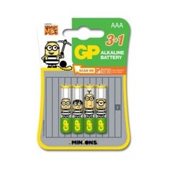 PIN MINION GPPCA24AU435 AAA - VỈ 4 PIN