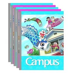 Vở 5 Ô Ly Campus A5 Doraemon Fly NB-ADFL96
