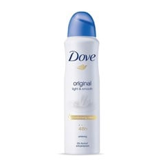 Xịt Khử Mùi Dove Light & Smooth 150ml
