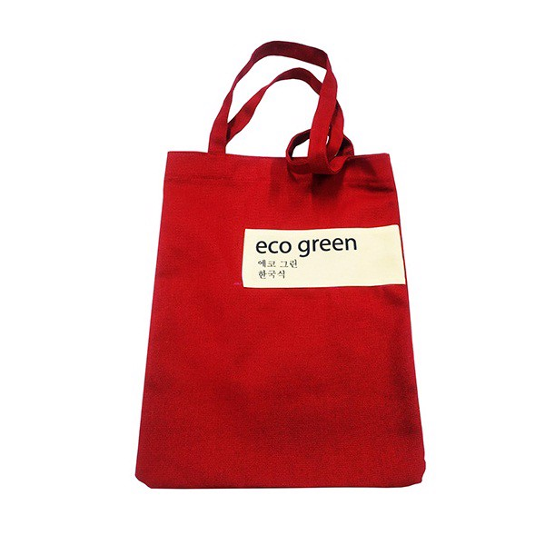 Túi Vải Canvas Eco Green Right NXHQ5 - Đỏ