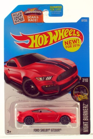 Hot Wheels 2016 Ford Shelby GT350R - Màu Đỏ