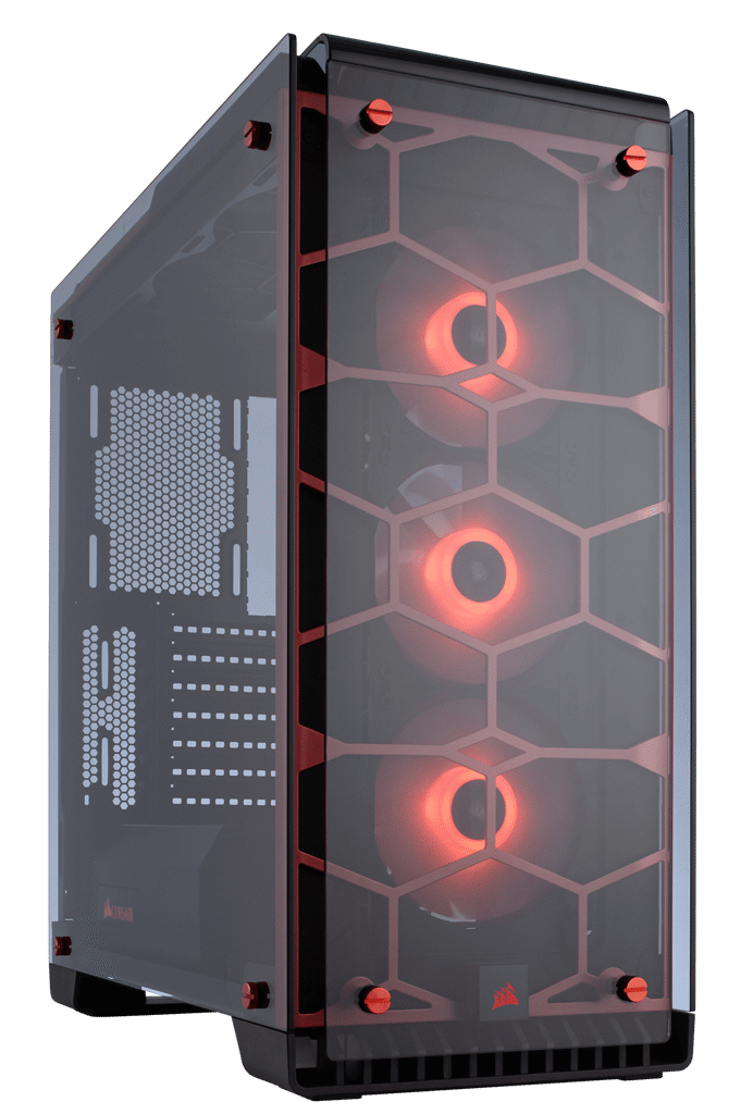 Case Corsair Crystal Series 570X RGB Red