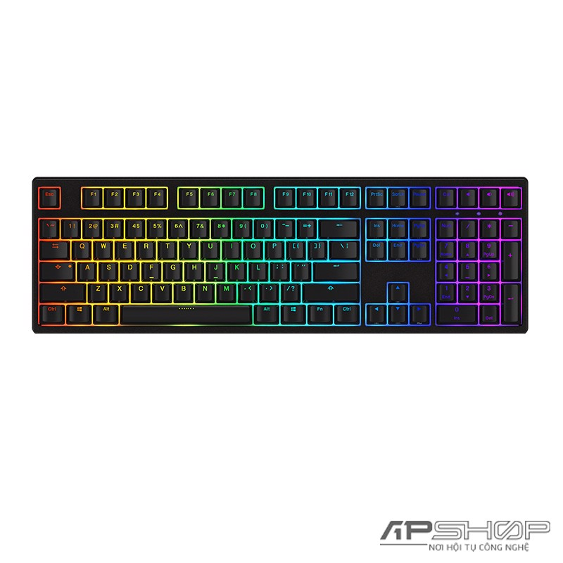 Bàn Phím AKKO 3108S RGB PRO Black - Cherry Switch