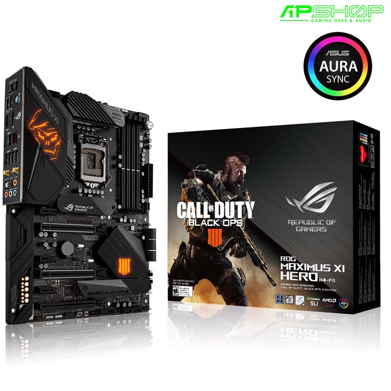 ASUS ROG Z390 MAXIMUS XI HERO ( WIFI ) CALL of DUTY EDITION