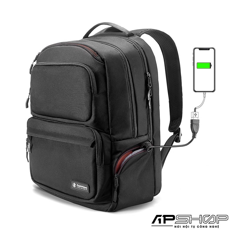Balo TOMTOC ( USA ) City BackPack A77 Large Business For Ultrabook 15