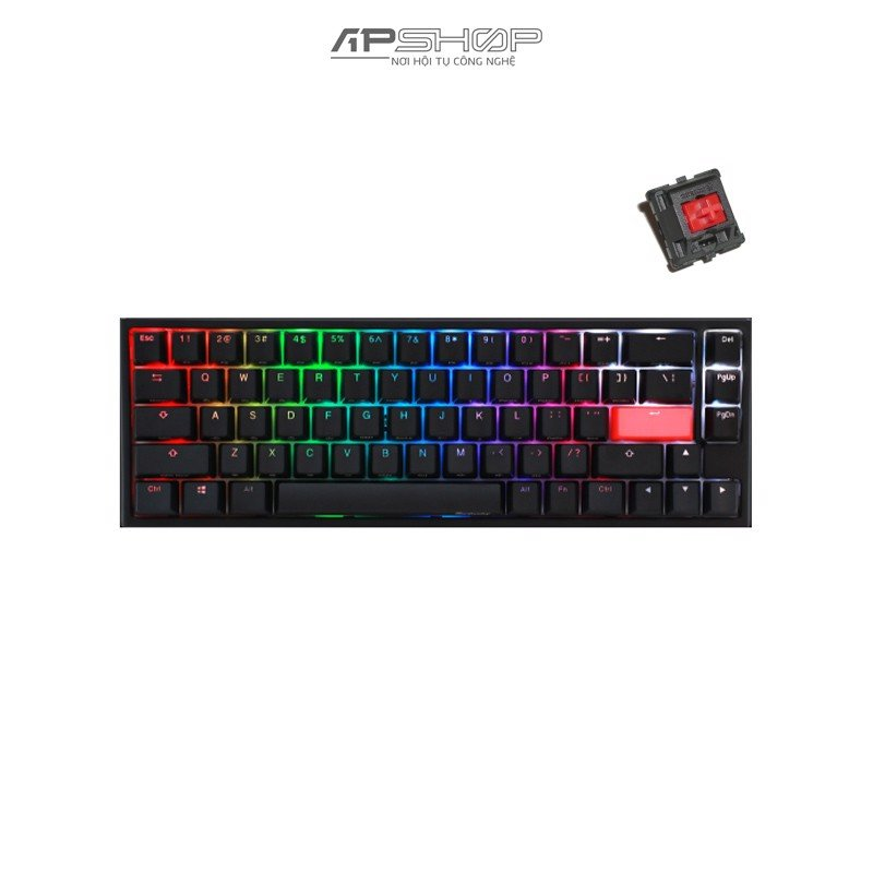 Bàn phím Ducky One 2 SF RGB Double Shot PBT