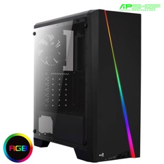 Case AeroCool Cylon Black Tempered Glass Edition