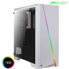 Case AeroCool Cylon White Tempered Glass Edition