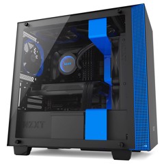 CASE NZXT H400 MATTE BLACK/ BLUE