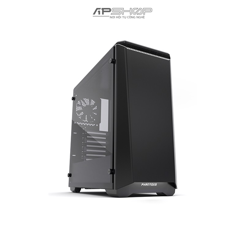 Case Phanteks Eclipse P400S Tempered Glass - Black / White