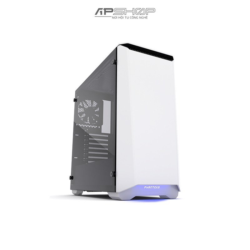 Case Phanteks Eclipse P400S Tempered Glass - Glacier White