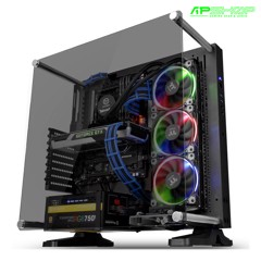 Case Thermaltake Core P3 Tempered Glass Black Edition