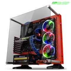 Case Thermaltake Core P3 Tempered Glass Red Edition