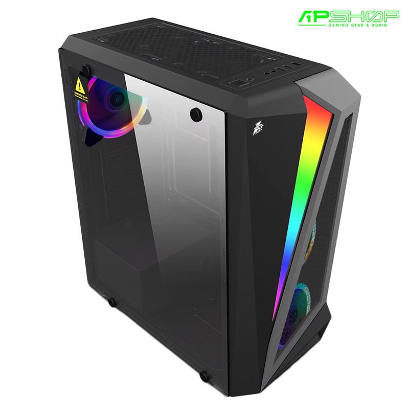 Case 1ST Player RainBow R5 RGB LED