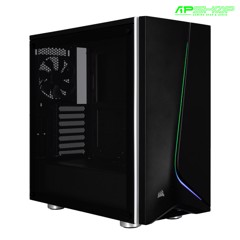 Case Corsair Carbide SPEC 06 RGB Tempered Glass Black