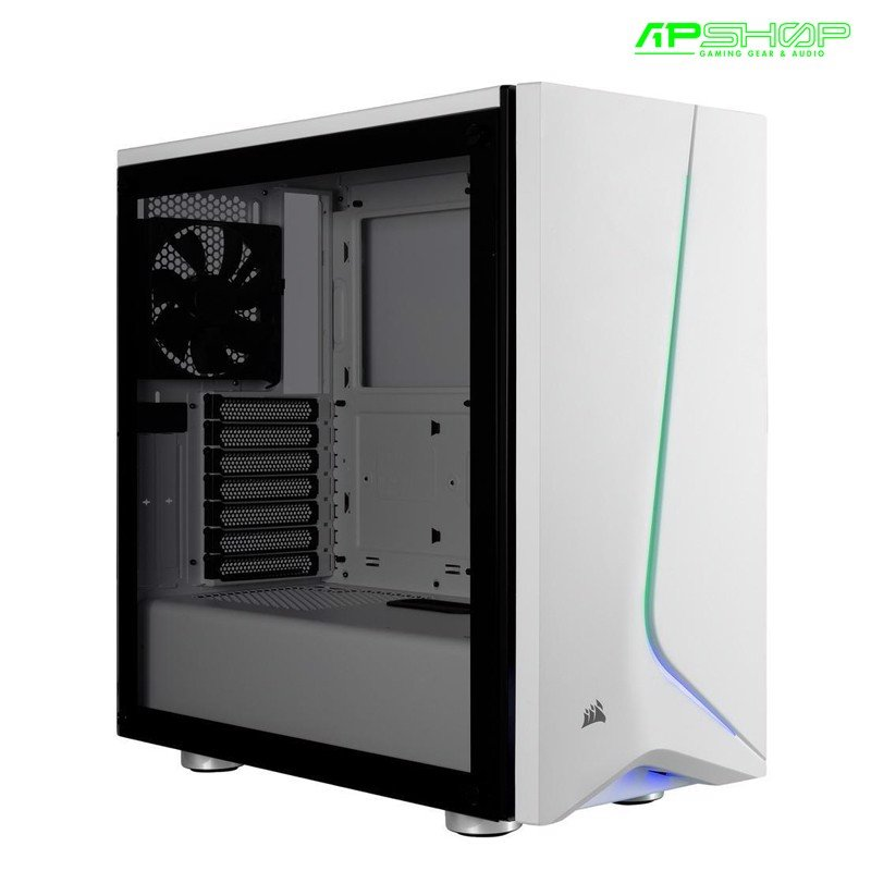 Case Corsair Carbide SPEC 06 RGB Tempered Glass White