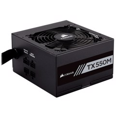 Nguồn Corsair TX550M - 80 Plus Gold - Semi Modul