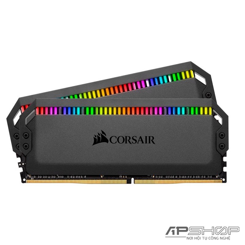 Ram Corsair Dominator Platinum RGB 32GB 2x16GB Bus 3000 Cas 15