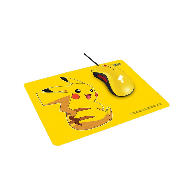 Combo Razer DeathAdder Essential + Razer Goliathus Speed Pikachu Limited Edition