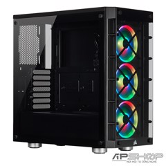 Corsair iCUE 465X RGB Mid Tower ATX Black