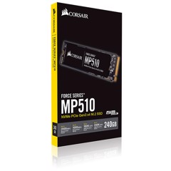 SSD Corsair MP510 240GB - Đọc 3,480mb/ s, Ghi 2.700mb/ s