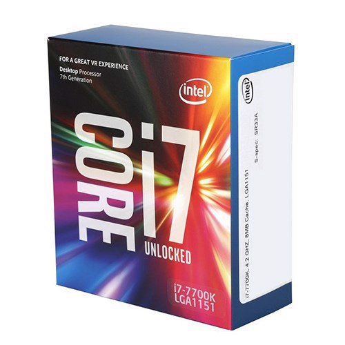 CPU Intel Core i7 7700K