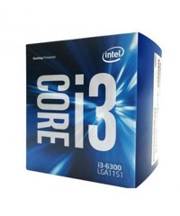 CPU Intel Core i3 6300