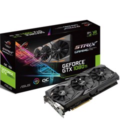 VGA ASUS ROG STRIX GTX 1080TI O11GB GAMING