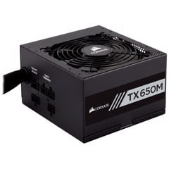 Nguồn Corsair TX650M - 80 Plus Gold - Semi Modul
