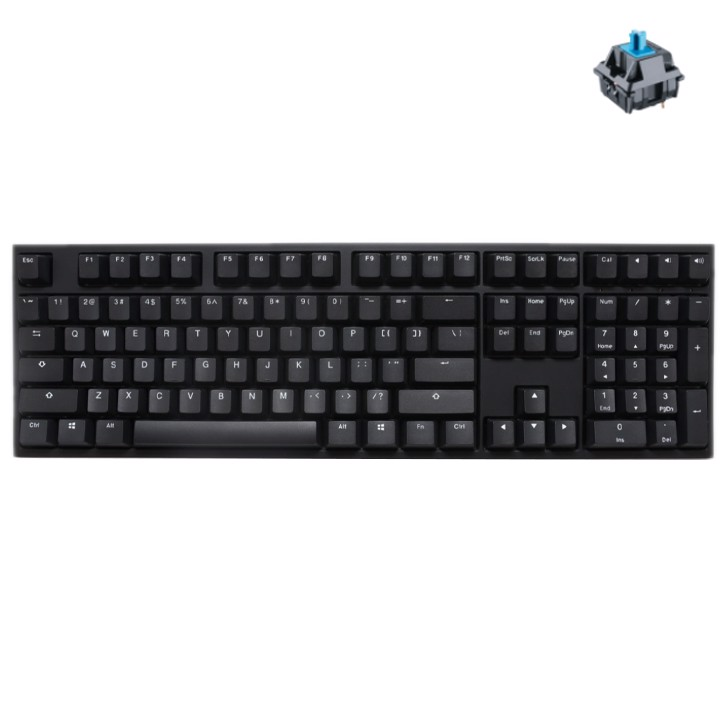 Bàn Phím Ducky One 2 Phantom Black
