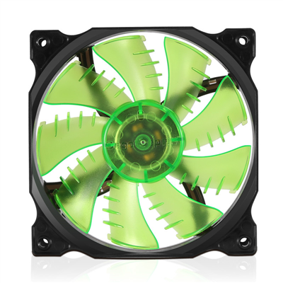 Fan Segotep Fire Dancing Green Led