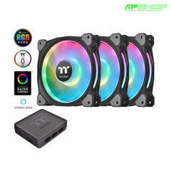 Fan Thermaltake Riing Duo 12 RGB - Kit 3 Fan