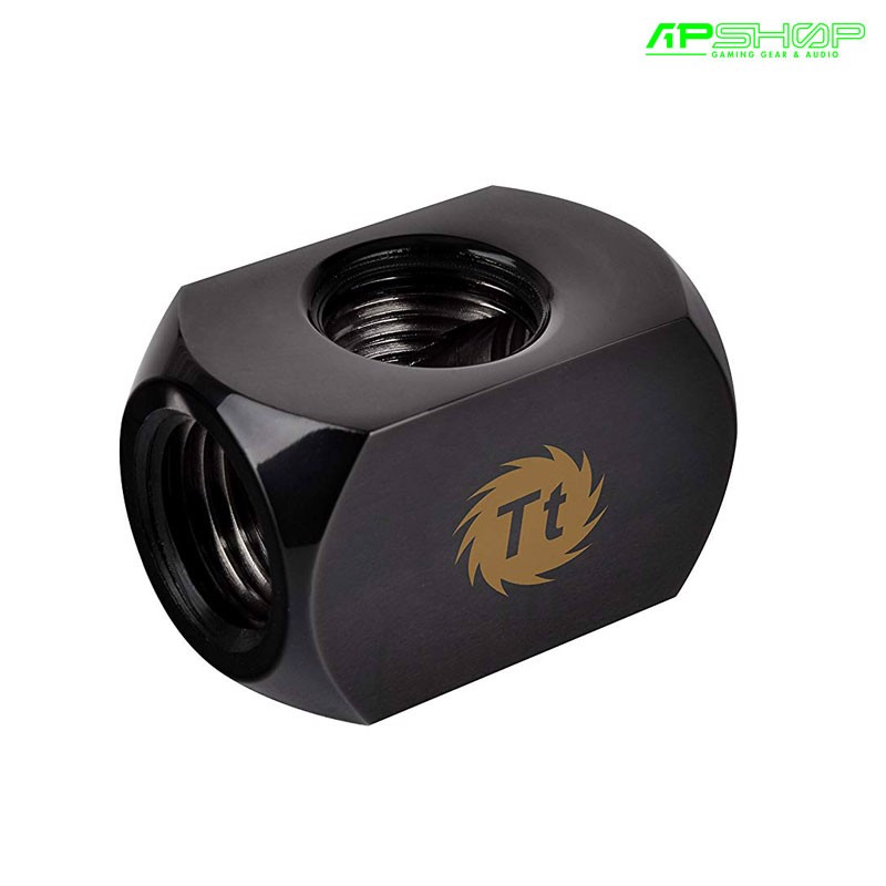 Fit Nối Ống Thermaltake Pacific 4 Way G1/4 Connector Block - Black