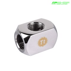 Fit Nối Ống Thermaltake Pacific 4 Way G1/4 Connector Block - Chrome