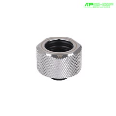 Fit Nối Thermaltake Pacific C PRO G1/4 PETG Tube 16mm OD Chrome