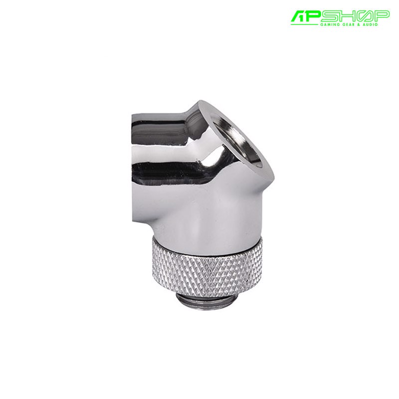 Fit Nối Thermaltake Pacific G1/4 45 Degree Adapter - Chrome