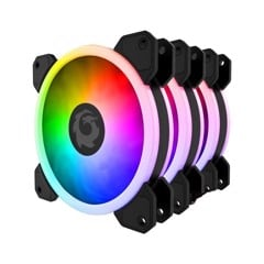 Fan For Game Cat Eye RGB kit 3 fan có điều khiển