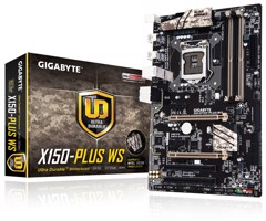Mainboard Gigabyte X150 PLUS WS rev 1.0 C232 - Socket 1151