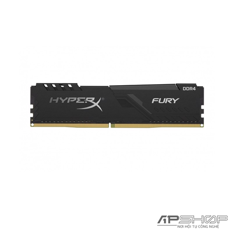 Ram Kingston HyperX Fury Black 16GB Bus 2666 - New Design