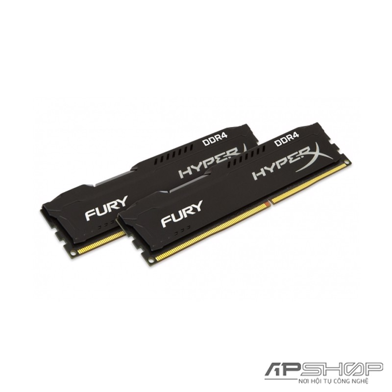 Ram Kingston HyperX Fury Black 32GB 2x16GB Bus 2666