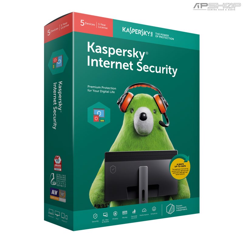 Kaspersky Internet Security for 5PC