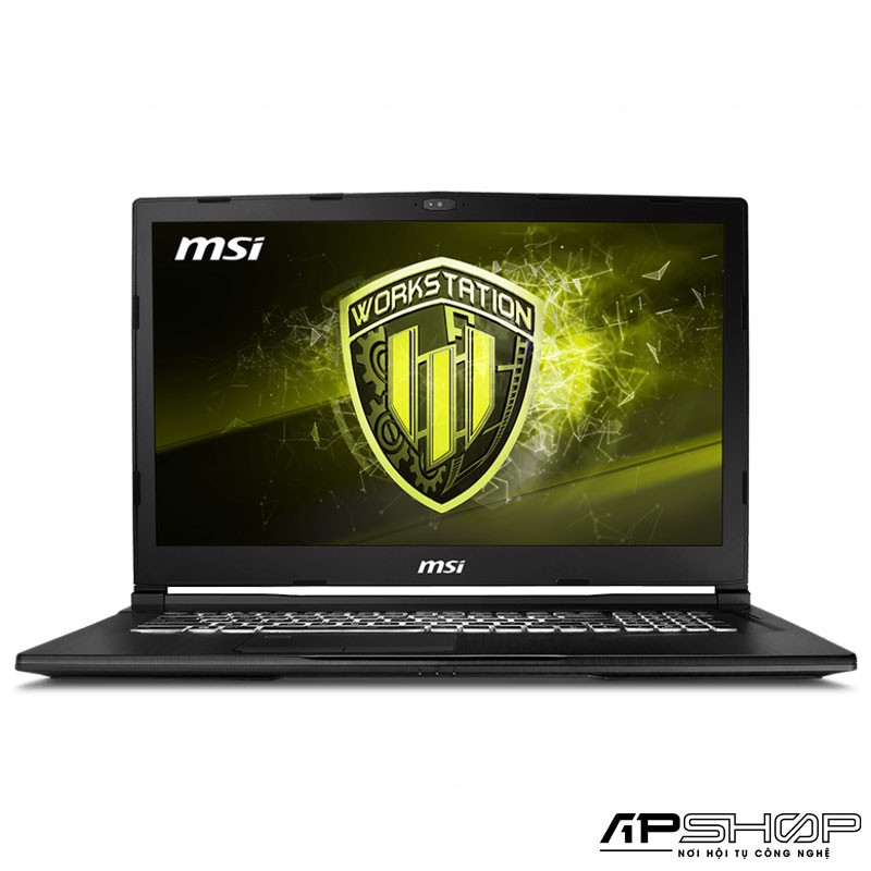 Laptop Workstaion MSI WE63 8SI