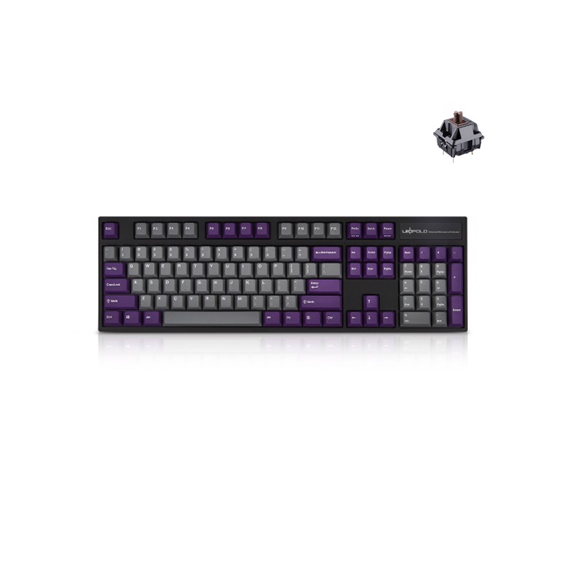 Leopold FC900R PD Grey Purple